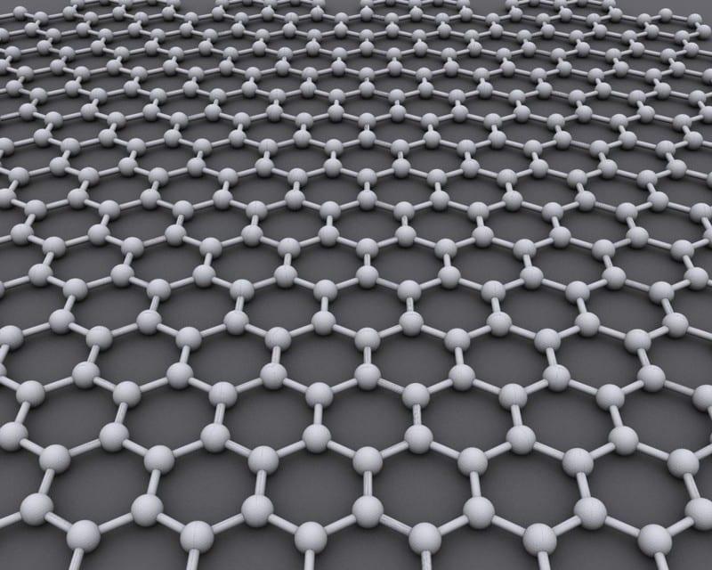 гексагональная решётчатая графеновая структура слоя