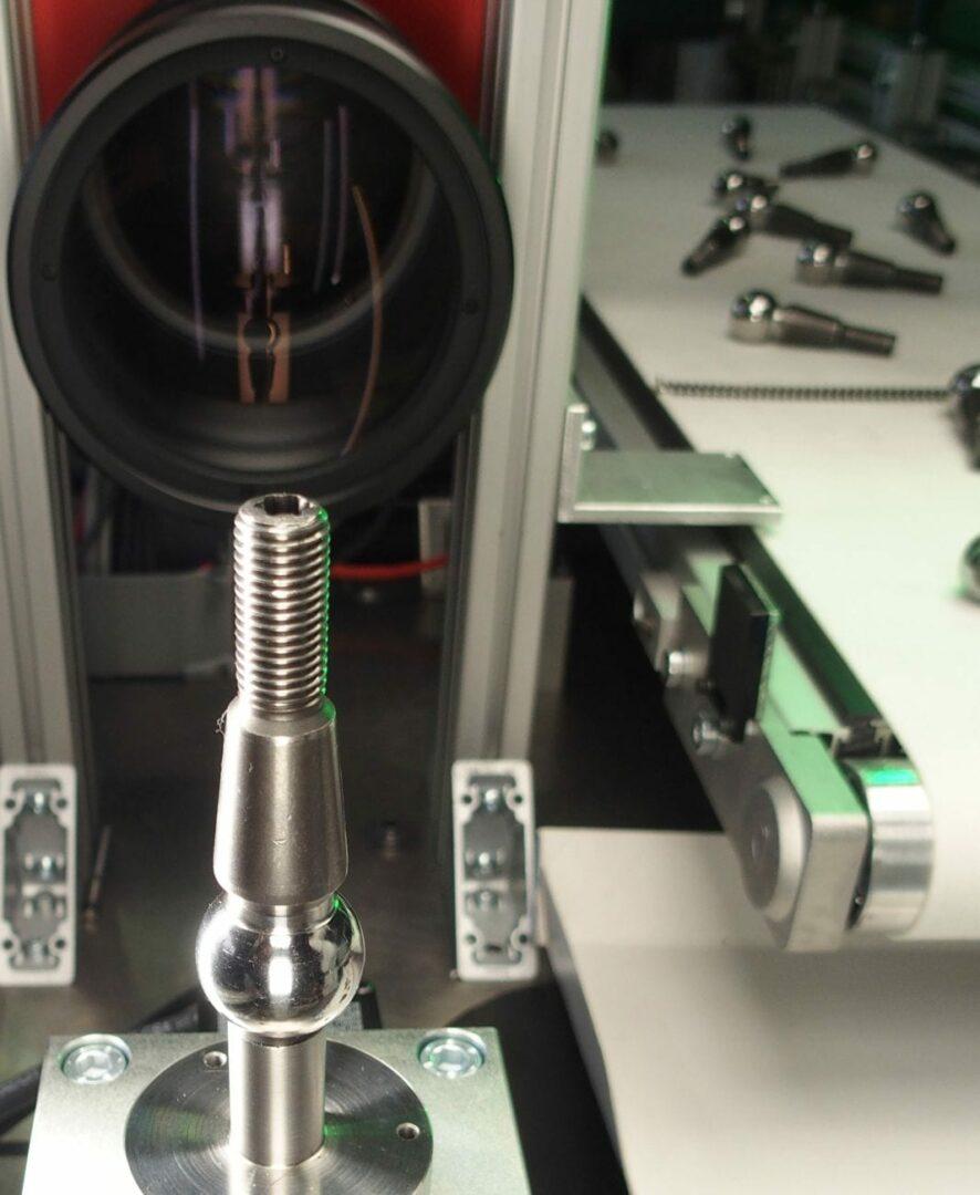 micrometro ottico in una CheckBox