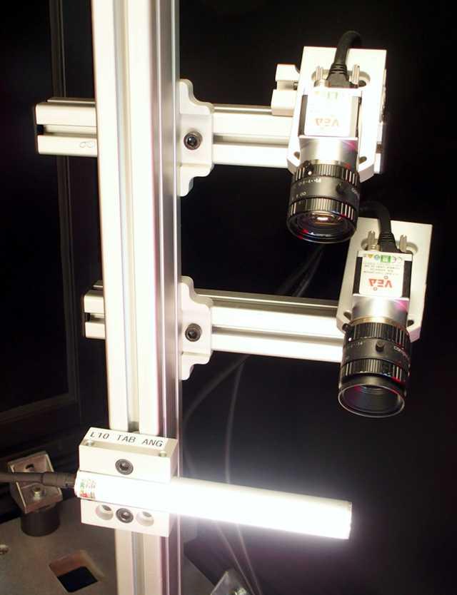 applicazione di un illuminatore lineare lel-c